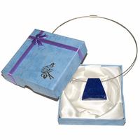 Pièce unique - Collier lapis lazuli percé Extra - Modèle 2