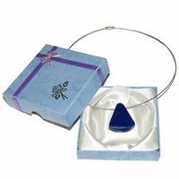 Pièce unique - Collier lapis lazuli percé Extra - Modèle 4