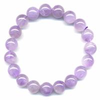 Bracelet quartz lavande boules 10mm