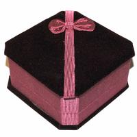 Boite cadeau Luxe bordeaux pour bracelet