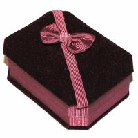 Boite cadeau Luxe bordeaux pour pendentif