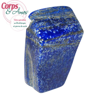 Pièce unique Lapis lazuli polie en forme libre à poser de 383g
