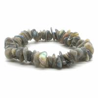 Bracelet labradorite baroque EXTRA - Perles XL