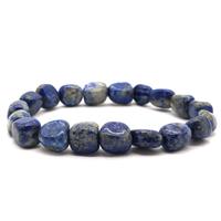 Bracelet pierres roulées Lapis lazuli