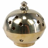 Brûle Encens Avalun laiton 8 cm