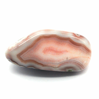 Agate Botswana rose de 20 à 30mm