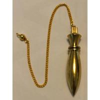 Pendule égyptien métal doré