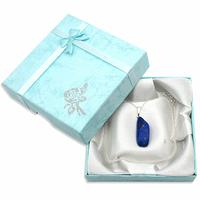 Pendentif argent Lapis lazuli avec chainette argent