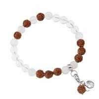 Bracelet Mala Cristal de roche (Clarté)