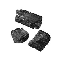 Tourmaline noire brute de Madagascar 25 à 35 mm