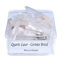 Quartz laser cristaux de 30 à 40mm