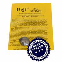 Pierres de Boji roulée Or de 25 à 30 mm avec Certificat d'authenticité