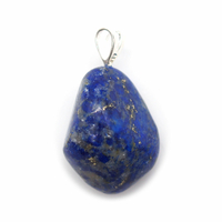 Pendentif lapis lazuli Extra avec Bélière Argent - Choix B