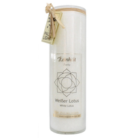 Bougie Chakra Lotus Blanc