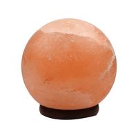 Lampe en sel de l'Himalaya en forme de Boule - 15cm