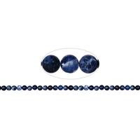 Fil de perles en Sodalite boule 6mm