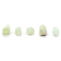 Apophylite verte brute mini de 5 à 10mm - Lot de 5pcs