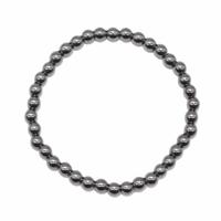 Bracelet hématite boules 4mm - Taille enfant