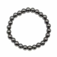 Bracelet hématite boules 6mm - Taille enfant