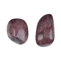 Thulite pierre roulée de 20 à 25mm - Lot de 3pcs