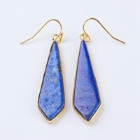 """Boucles d'oreilles en lapis lazuli """"Cerf-volant"""""""