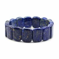 Bracelet square Lapis lazuli