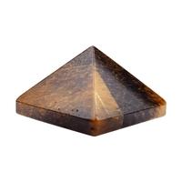 Pyramide en Oeil de tigre 30x30mm