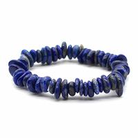 Bracelet Disque en Lapis lazuli