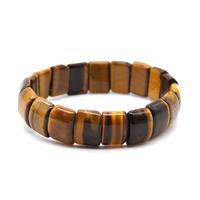 Bracelet Demi lune en Oeil de tigre