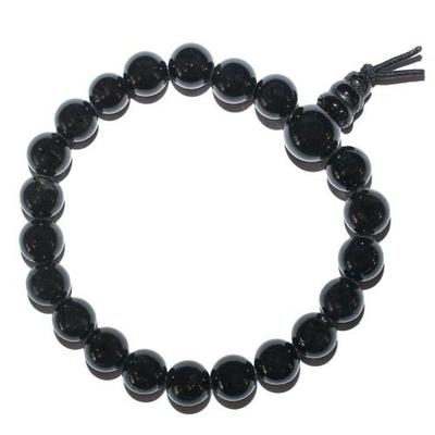 8029-mala-tibetain-21-graines-power-bracelet-tourmaline-noire-boules-8-mm