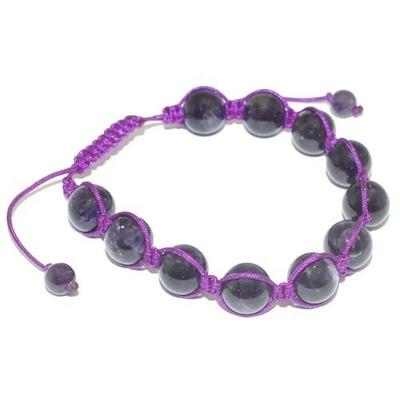 8009-bracelet-shamballa-amethyste-10-mm