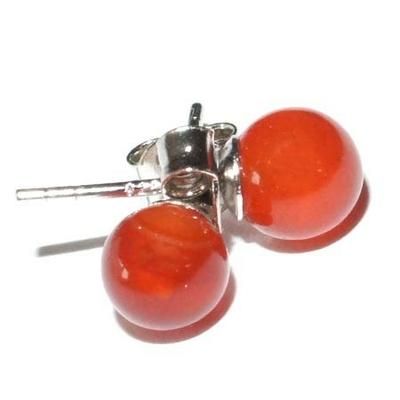 7223-boucles-d-oreilles-boule-6mm-cornaline-en-argent