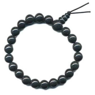 6167-mala-tibetain-21-graines-power-bracelet-onyx-boule-8-mm