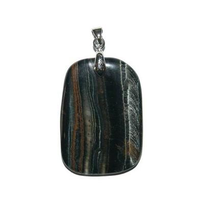 4964-oeil-de-faucon-pierre-plate-en-pendentif