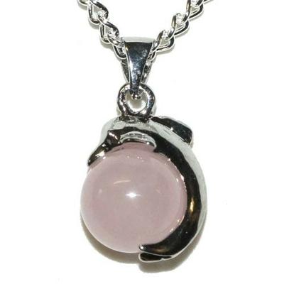 4690-pendentif-quartz-rose-en-boule-avec-dauphin-22-mm