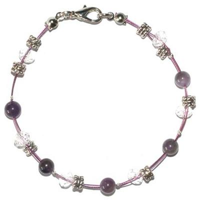 4136-bracelet-steel-rapprochement-et-connaissance-en-amethyste