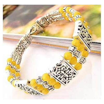 3436-bracelet-tibetain-en-agate-jaune-type-22