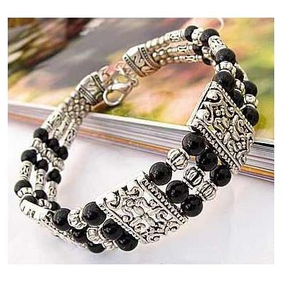 3434-bracelet-tibetain-en-onyx-type-22