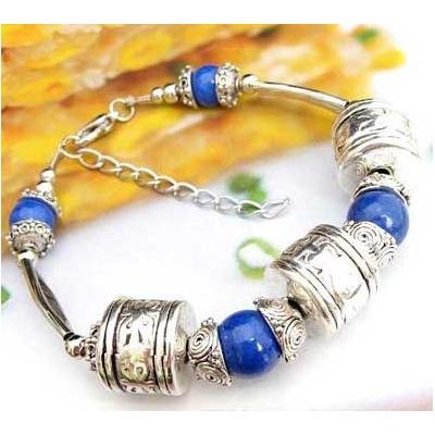 3424-bracelet-tibetain-en-howlite-lapis-type-11