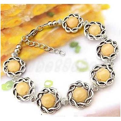 3413-bracelet-tibetain-en-calcite-jaune-type-13