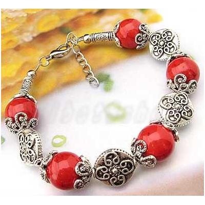 3411-bracelet-tibetain-en-corail-type-16