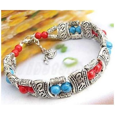 3409-bracelet-tibetain-en-corail-type-14