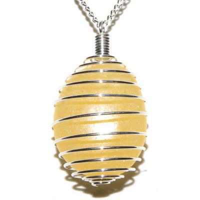 3355-pendentif-pierre-plate-calcite-jaune-en-spirale