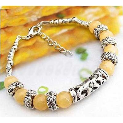 2471-bracelet-tibetain-en-calcite-jaune-type-8