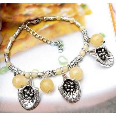 2448-bracelet-tibetain-en-calcite-jaune-type-6