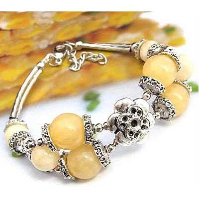 2439-bracelet-tibetain-en-calcite-jaune-type-4