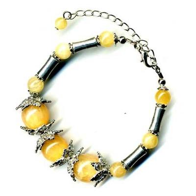 2431-bracelet-tibetain-en-calcite-jaune-type-3