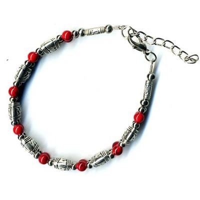 2418-bracelet-tibetain-en-corail-type-1