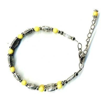 2417-bracelet-tibetain-en-calcite-jaune-type-1