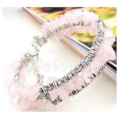 2199-bracelet-tibetain-en-quartz-rose
